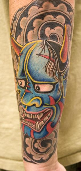Alien ninja akuma the hannya mask: japanese hannya mask tattoo | flickr