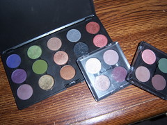 MAC eyeshadow palettes photo by Lady Fabulous