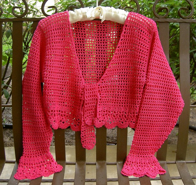 Crochet Shrug | - Welcome to the Craft Yarn Council and Warm Up