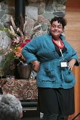 AMB Speaking at Web of Change