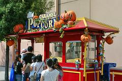 Halloween Popcorn Wagon