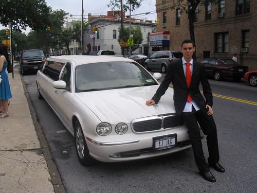 Con la limusina por Queens