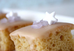 Buttermilk cake with Lemon Frosting