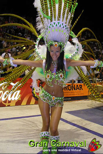 Evangelina Carrozo, reina de gualeguaychu