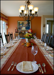 Thanksgiving Table Setting...