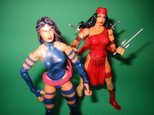 Marvel Ninja Chicks