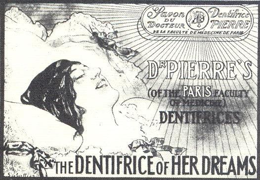 Savon du Docteur Dentifrice Pierre ad, 1919