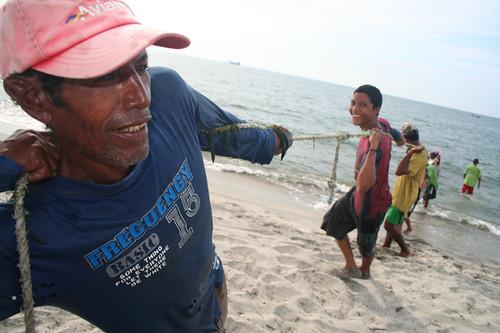 pescadores en Santa Marta