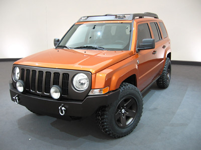 Jeep� Patriot Builders: Chrysler Tech Center Vehicle Build Shops. (who??)