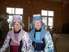 Signore in Frisia in costume tradizionale
