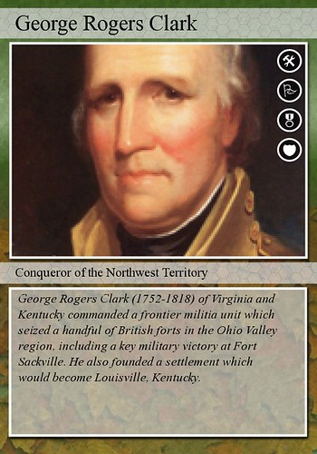 a biography of george rogers clark George rogers clark was born in albemarle county, virginia, not far from the  home of young thomas jefferson clark attended donald.