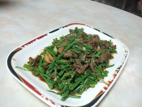 沙茶炒羊肉