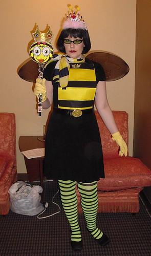 Sara as Queen Bee