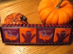 godiva halloween candies