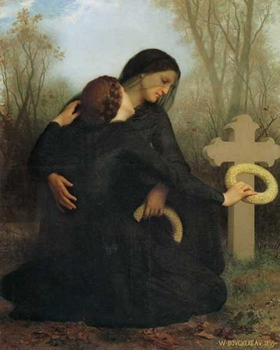 All Souls' Day William Bouguereau (French, 1825-1905)