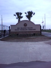 Rio Grande Valley State Veterans Cemetary Entrance