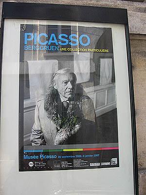 Affiche musée Picasso