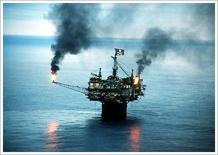 pirate oil rig