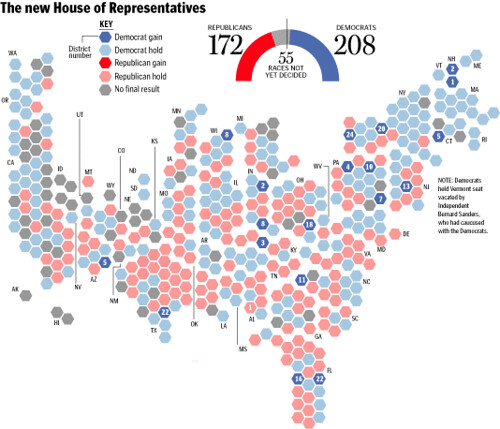 Boston Globe House Election Results