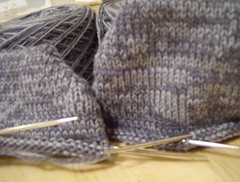 Marble Grey socks