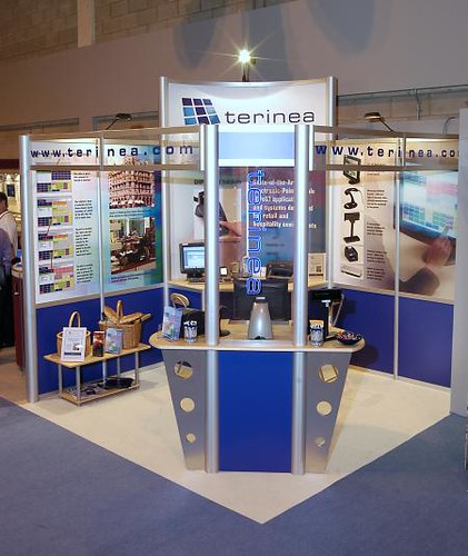 Terinea EPOS Stand at Retail Solutions 2004