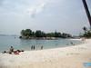 Sentosa Beach - Siloso Lagoon