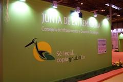 Stand de la Junta de Extremadura
