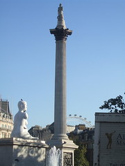 Nelson's Column towards the Eye