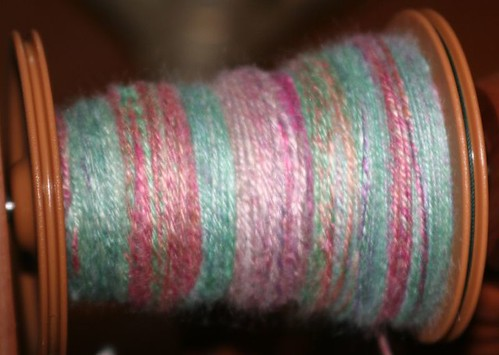 Plying the soy silk