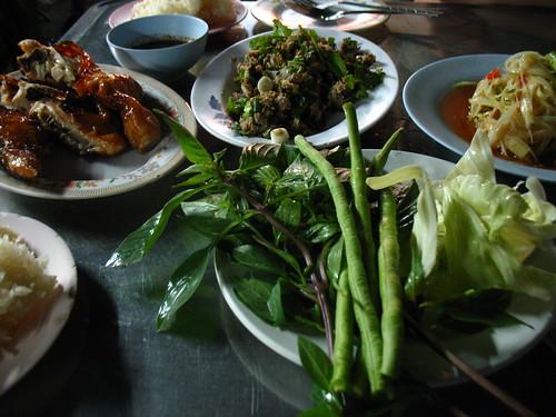Isan food