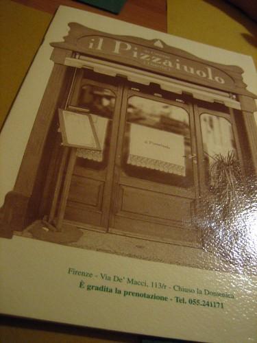 il Pizzaiuolo Menu