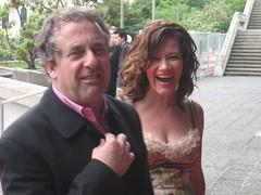 Jim Mora and Mary Lambie