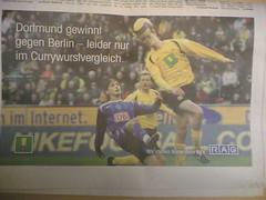 Dortmund gewinnt gegen Berlin - leider nur im Currywurstvergleich.