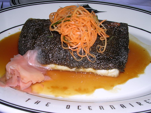 Black Cod with Orange Ginger Sauce