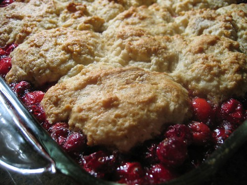 Don't bogart that cranberry cobbler