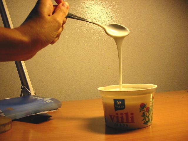 Viili, lácteo de Finlandia