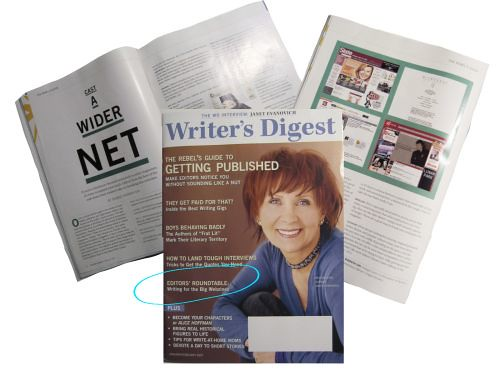 Writer's Digest article