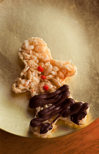 christmas rice crispie treats