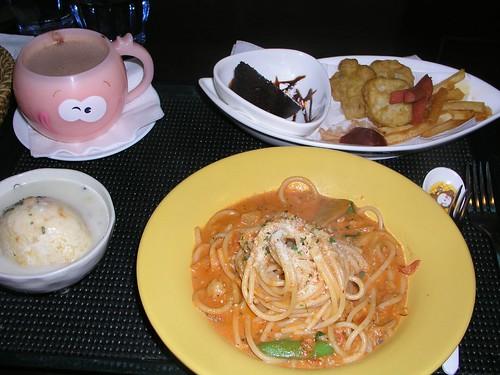 20061125_「靴子」義大利餐館_兒童餐