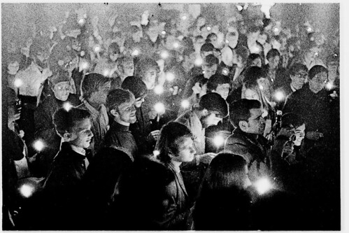 candlelight march, Stanford 1970