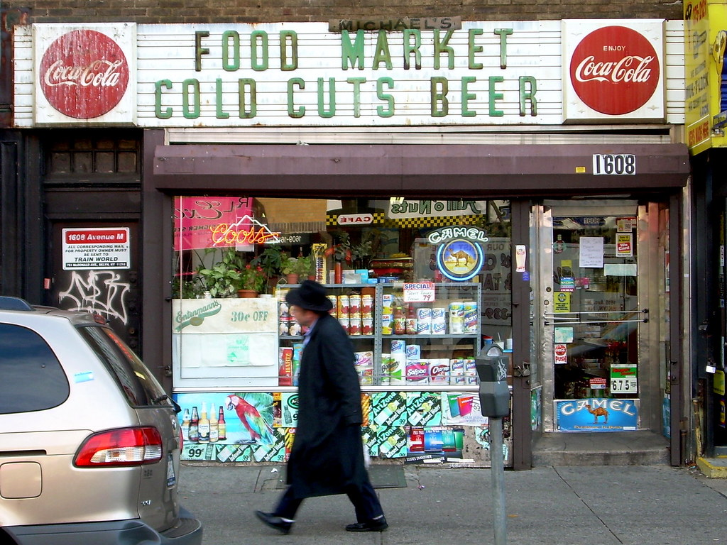 food market, midwood
