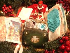 Vintage Christmas Swap! Lucky Me!