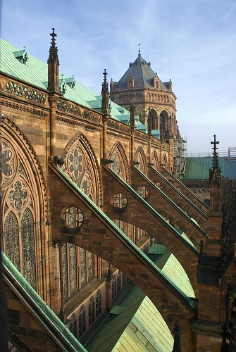 Flying Buttresses of Strasbourg Cathedral