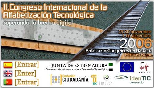 II Congreso de Alfabetización Tecnológica Extremadura
