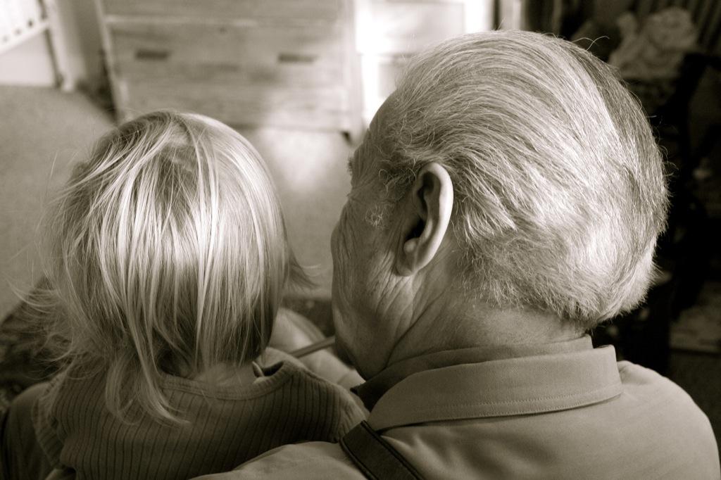 Grampy reads