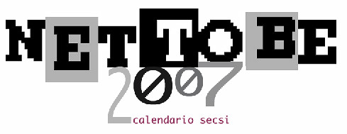 Net To Be: calendario 2007