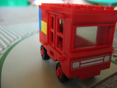 Wonky Little Red Bus