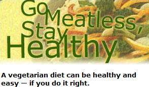 How to stay a vegetarian and stay healthy