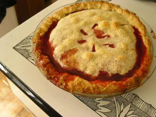 Cherry Pie I baked for Jane