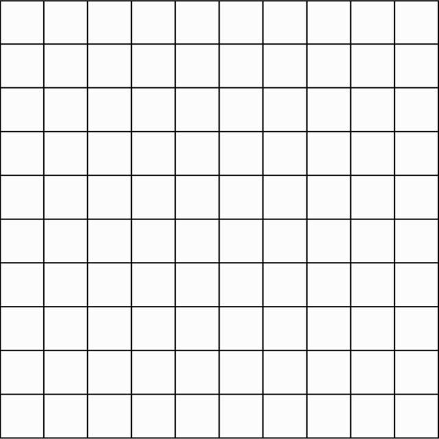 Blank Calendar Squares : Blank grid chart printable